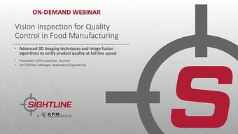 SL Webinar Quality Control in Food Manufacturing